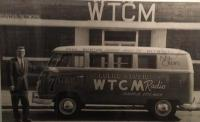 WTCM Logo'd Radio Bus
