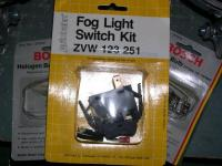 Vanagon Fog Light Switch