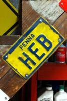 Hebmuller #6 license plate?