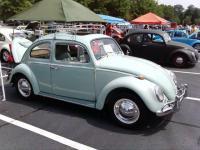 1964 Bahama Blue Sunroof Bug