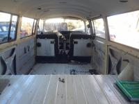 Cleaned out interior