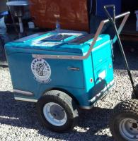 VW Friends Mexicali splitty beer cart