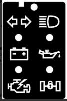 Vanagon Cluster Icons