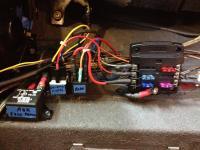 Blue Seas fuse panel
