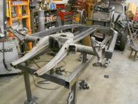 Puzzle Manx II chassis coming together