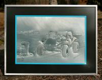 Bud Zeller's Meyers Manx Dune Buggy Engraving