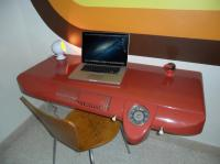 Bus dash desk