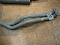 Dasher dual downpipes