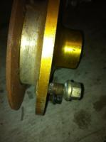 1956 FRONT  ALLOW HUB ( FOR DISC BRAKES)