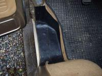 footwell treatment with bedliner
