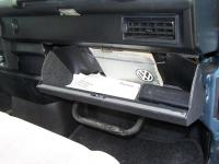 the new glove box
