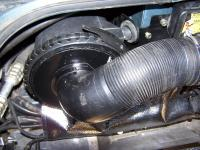 ford windstar airbox fit perfect in the drivers pillar