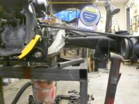 Checking CV angle on Puzzle Manx buggy suspension