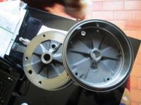 Buggy rear drums