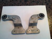 Unidentified dual carb crossbar brackets