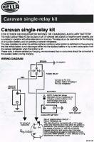 Caravan Single-relay Kit