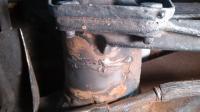Rear Axle Beam Rust