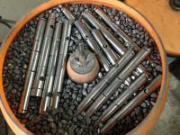 fine-finishing rocker shafts