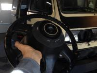 Eurovan steering wheel to vanagon mod