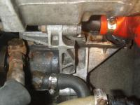 AHU Broken Power steering Pump bracket