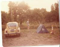Camping in Florida on way to Daytona Spring Break 1983