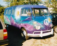 Jerry Garcia 21 Window Bus