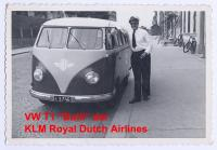 KLM Royal Dutch Airlines VW Barndoor.