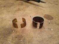 Upper steering column anti rattle bushing