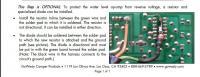 Gowesty LED panel fix kit