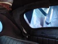 Original interior sound deadening and padding.