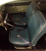 TMI Water Blue seat covers
