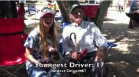 Oldest and Youngest Driver