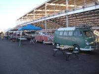 Bus row at Phoenix Bugorama swap meet