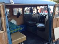 Dove blue swivel seat panel