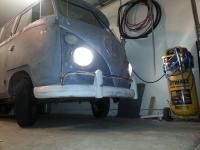 h4 headlights installed