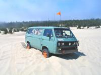 Syncro stuck in sand