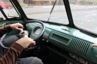 Driving to Red Barn in a '67 Westy