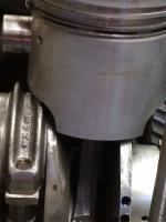 Ww69.5 mm crank and modified piston