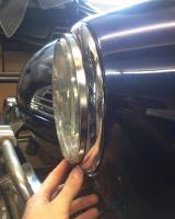 Different headlight ring