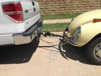 Tow bar angle - need receiver hitch adapter?