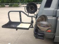 RMW carrier/shelf and magma BBQ pit