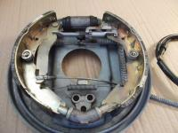 Vanagon rear brake as assembled by the factory,pass side