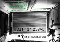 VW scirocco radiator refit