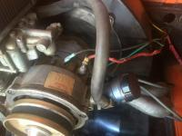 Alternator wire burned
