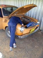 Australian 1972 TLE Fastback, first 7 work sessions.
