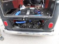 TOYOTA V8 1 UZ-FE + GETRAG 6 IN VW BUS T2 '1973