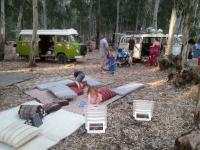 camping in Hasharon park