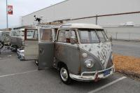 Mouse Gray 23-Window Deluxe Microbus with camper kit