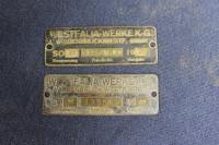 Westfalia Tag Mystery