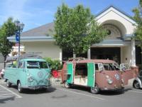 Buses at Lakeport Camp-N-Shine